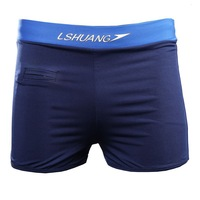 2014 Rushed Sale Solid Polyester Nylon Sungas Masculinas Sunga Swimsuit Men Swimming Trunk Boxer Trunks Quick-drying Waterproof