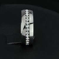AOGA Brand Best Ring For Man Gift The Rings For Women and Men Unisex 316L Eternity Stainless Steel Men Ring RI100192