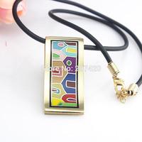 Newest Classics Building Strip Design Enamel Jewelry Pendant Necklace,1pcs/pack