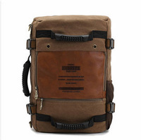 Ophira Fashion 2014 Spring New Men's Canvas Backpack, 2014 Outono masculino tela mochila IF 159 free shipping travel bag