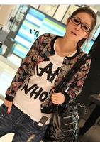 Spring 2014 women's new Korean female short coat coat thin models wild