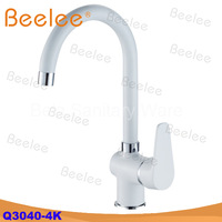 Gabriel kitchen mixer sink cock painted white black yellow colorful brass copper faucet Italy Germany design (Q3040-4K)