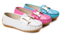 2014 Autumn Arrival Girls PU leather Shoes/High Quality Children Girls Shoes/Korea Style Kids Shoes For Girls With 3 Colors