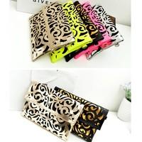 New 2014 women messenger bags hollow out one shoulder bag decorative design hollow out women handbag,BAG152