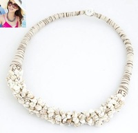2014 new 5 colors of Bohemia stone temperament short necklace for women # 2531
