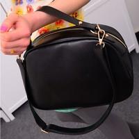Vintage bag oblique cross one shoulder bag makeup bag British vintage women messenger bag,BAG155