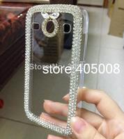 Bling Cystal Case Cover For Samsung Galaxy Core i8262 i8260 Phone Case, i8262 Luxury Diamond Rhinestone Case Free Shipping