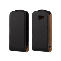 Real leather Flip case for Samsung Galaxy trend Lite S7390 genuine leather protective case for s7392 PY