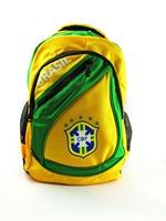 Best quality brazil  embroidery soccer bags,football soccer backpack,outdoor sports bag,  brasil soccer fans souvenir bag