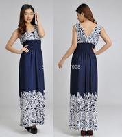 2015 Women vestido longo Retro Vintage Femminas Longas Vestidos Verano Faldas Largos Ropa de Mujers Plus Big Size Playa Dresses