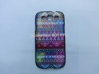 Aztec Tribal Tribe Pattern Retro Vintage  hard back cover case for samsun g galaxy s3 i9300+housing capa celular free drop