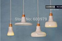 2014 the newest  Fashion  lamp  white  Shade LED single pendant light (4 piece)