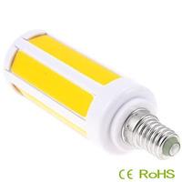 New arrival 4pcs/lot Super Bright 7W e14 led COB SMD LED Corn bulb Light white/Warm White 85-265V led corn light e14