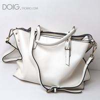 2014 new fashion aslant handbag fashion ioi han edition hand the bill of lading shoulder bag leather ladies bags free shipping