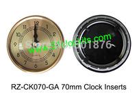 70MM clock inserts/ Arabic numerals /clock fit-ups RZ-CK070-GA