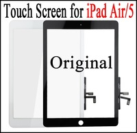 Original Touch Screen for iPad Air Tested Front Glass Digitizer Replacement LCD Touch Panel for iPad 5 Air DHL Free Shipping