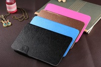 3 IN 1 Kits Original Folding PU Leather Case+Screen Protector+Touch Pen For Lenovo A3500 Tablet PC,Free Shipping