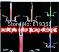 2pcs/lot Multiple color  Automatic color changing 7 color Water Faucet Light Glow Shower LED Faucet Light Temperature Sensor