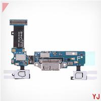 10 pcs/lot Original For Samsung Galaxy S5 SM-G900F  Flex Cable + Charger Port USB Sockey, Home Connector + Sensor Key