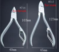 Nail tools clipper scissors feet care Stainless Steel Cuticle Scissor Nipper Removedor De Cuticula pedicure scissors 8717