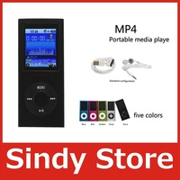 NEW 9 COLORS 8GB FM VIDEO 4TH GEN  MP4 PLAYER FREE SHIP WITH RETAIL PACKAGE FREE SHIPPING