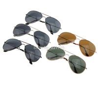 Fashion Style Adult Aviator / Pilot / Wayfarer Eyewear 3025 classic brand Mirror Sunglasses