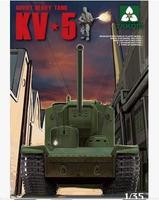 Tank model NO2006 1/35 KV-5 Soviet Supere Heavy Tank  plastic model kit