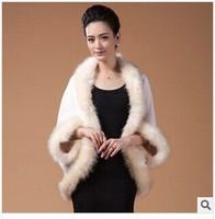 2014 New fashion Style Faux Fur cape cloak Hot  Sell