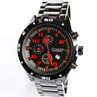 2013 Watch Men Brand Famous Casual Charm Elegant Steel Waterproof Watches Wholesale Dropship