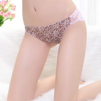 Blasting models appeal underwear ribbon ring hollow out of bud silk women's G-String wholesale 1023 sexy temptation