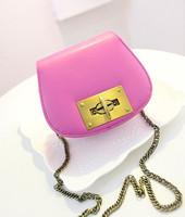 2014 women's handbag iron chain mini bag cross-body shoulder bag