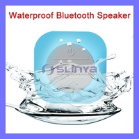 Mini Waterproof Bluetooth Speaker for Shower Car Recieve Calls & Music Handsfree Speaker