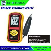 GM63B Digital Vibrometer, vibrometer tester,Vibration Meter