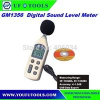 Digital Sound Level Meter GM1356 (35~130dB) .Noisemeter  USB interface