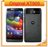 Original Motorola RAZR M XT905 Mobile Phone Android 4.0 Dual Core Camera 8MP Motorola XT905 Support 2/3/4G Network Cellphon