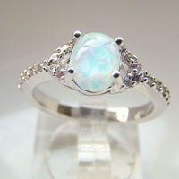 fashionable jewelry 2014 fashion jewelry australian opal jewelry mens gold plating opal rings DR301403109R Size7.8 Free Shipping