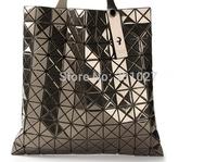 Free shipping new 2014 brand bag women's handbag BAOBAO metal color handbag women's big bag laser 10*10 hot sell