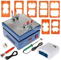 110V/220V LCD Separator Machine+Cutting Line +UV Lamp + Loca Glue for Screen Glass Repair,For iphone/samsung