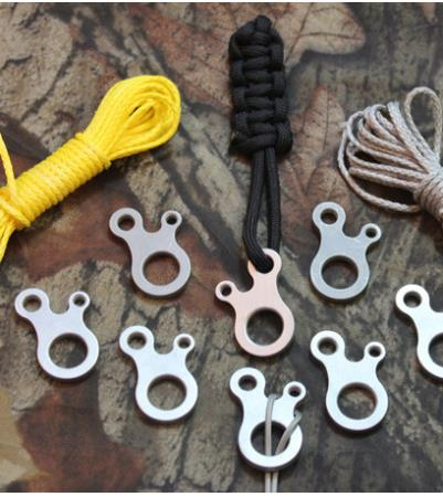 Travel Kits multi-purpose knot Umbrella rope connection buckle hooks camping tool outdoor EDC paraphernalia Survival equipment(China (Mainland))