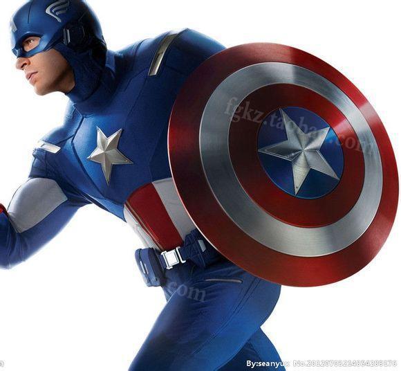 Free-shipping-DIY-Captain-America-Model-Cosplay-Model-Captain-America