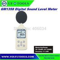 Digital Sound Noise Level Meter Decibel Pressure 30-130dB GM1358