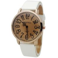 Elegant White Men's Man Luxury Hours Clocks Dress Watch Women Layd's Girl Sports Gifts Quartz Analog Wrist Watches