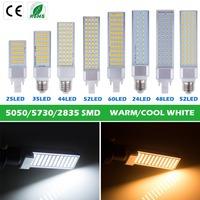 Bloomwin Wholesale 5pcs/lot SMD5050 G24 5W/7W/9W/11W/13W Warm White/Cool White LED Corn Bulb Lamps LED Lighting