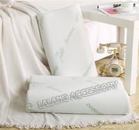 Free shipping 1pcs special design 100% bamboo fiber Slow rebound memory foam pillow neck cervical healthcare pillows EJ671825