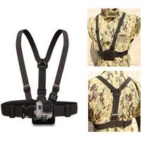 GoPro Strap Harness Adjustable Elastic GoPro Belt Chest Strap Mount for GoPro Camera Hero 3 / 2