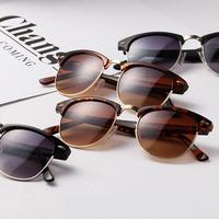 AEVOUGE with Original box brand unisex Sunglass men Multicolor lens Sun Glasses women with case gafas/oculos