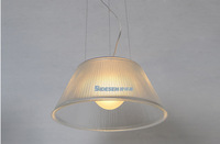 2014 the newest lamp  S2  clear glass pendant light aslo for wholesale ( dia 500mm*H 225mm)
