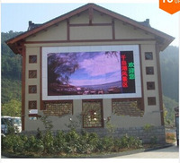 0.8m x 0.8m, New arrival!!! High Brightness Waterproof P10 LED Outdoor Full color Sign