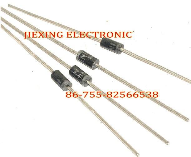 Free shipping 100PCS 1N5822 5822 3A 40V DO-27 Rectifier Diode(China (Mainland))