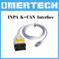 2014 [ Top Selling] for BMW INPA K+Dcan inpa k+dcan USB OBD2 Interface INPA K+CAN CABLE Ediabas for BMW Free Shipping